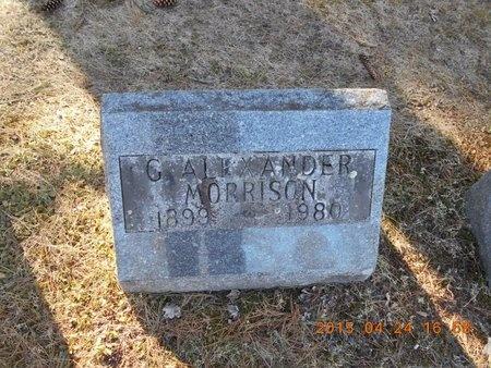 MORRISON, G. ALEXANDER - Marquette County, Michigan | G. ALEXANDER MORRISON - Michigan Gravestone Photos