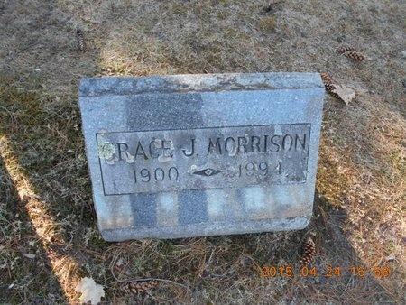 MORRISON, GRACE J. - Marquette County, Michigan   GRACE J. MORRISON - Michigan Gravestone Photos