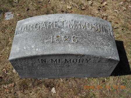 MOSHER, MARGARET M. - Marquette County, Michigan | MARGARET M. MOSHER - Michigan Gravestone Photos