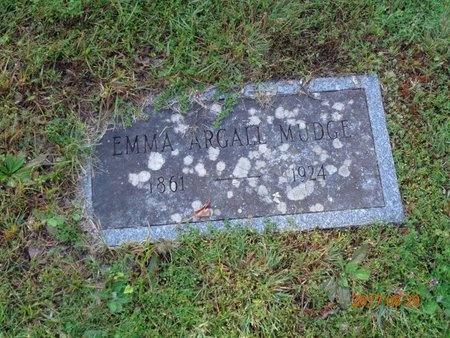 MUDGE, EMMA - Marquette County, Michigan | EMMA MUDGE - Michigan Gravestone Photos