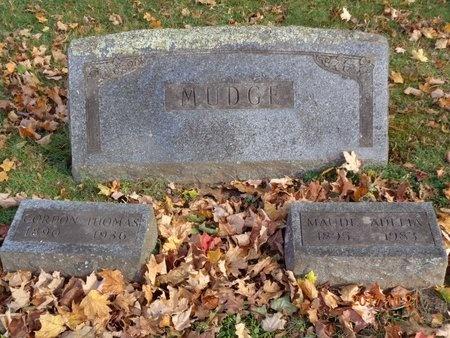 MUDGE, FAMILY - Marquette County, Michigan | FAMILY MUDGE - Michigan Gravestone Photos
