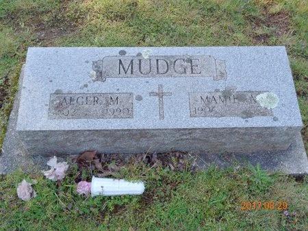 MUDGE, ALGER M. - Marquette County, Michigan | ALGER M. MUDGE - Michigan Gravestone Photos