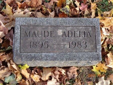 MUDGE, MAUDE ADELIA - Marquette County, Michigan | MAUDE ADELIA MUDGE - Michigan Gravestone Photos