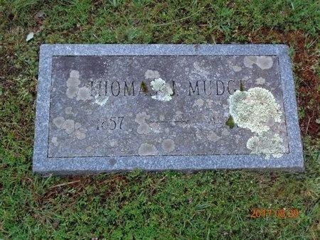 MUDGE, THOMAS J. - Marquette County, Michigan   THOMAS J. MUDGE - Michigan Gravestone Photos