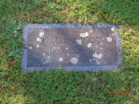 MUDGE, WILLIAM A. - Marquette County, Michigan | WILLIAM A. MUDGE - Michigan Gravestone Photos
