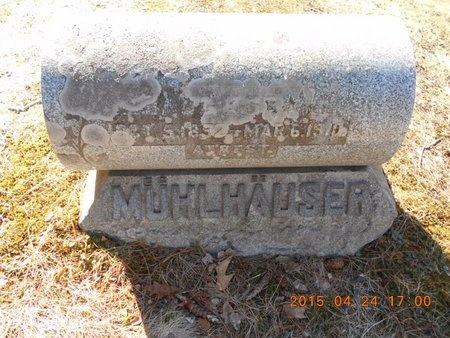 MUHLHAUSER, AUGUST W. - Marquette County, Michigan | AUGUST W. MUHLHAUSER - Michigan Gravestone Photos