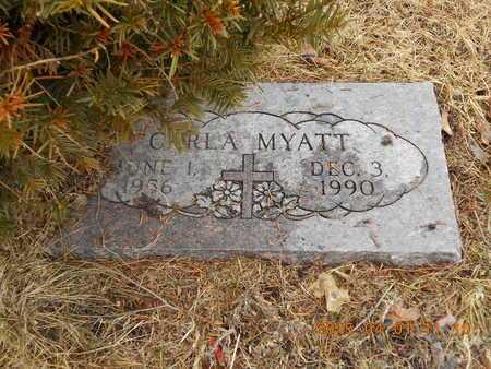 MYATT, CARLA - Marquette County, Michigan   CARLA MYATT - Michigan Gravestone Photos