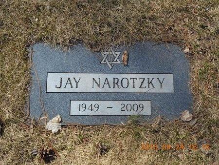 NAROTZKY, JAY - Marquette County, Michigan | JAY NAROTZKY - Michigan Gravestone Photos