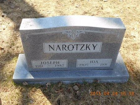 NAROTZKY, JOSEPH - Marquette County, Michigan   JOSEPH NAROTZKY - Michigan Gravestone Photos