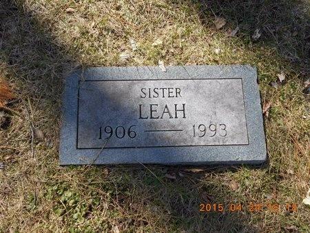 LOWENSTEIN, LEAH - Marquette County, Michigan   LEAH LOWENSTEIN - Michigan Gravestone Photos