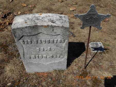 NAUGHTON, GEORGE - Marquette County, Michigan | GEORGE NAUGHTON - Michigan Gravestone Photos