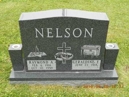 NELSON, GERALDINE E. - Marquette County, Michigan | GERALDINE E. NELSON - Michigan Gravestone Photos