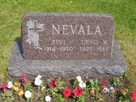 NEVALA, ELVI - Marquette County, Michigan | ELVI NEVALA - Michigan Gravestone Photos