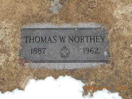 NORTHEY, THOMAS W. - Marquette County, Michigan   THOMAS W. NORTHEY - Michigan Gravestone Photos