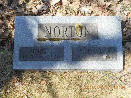NORTON, MILDRED A. - Marquette County, Michigan   MILDRED A. NORTON - Michigan Gravestone Photos