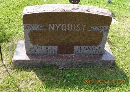 NYQUIST, ARTHUR E. - Marquette County, Michigan | ARTHUR E. NYQUIST - Michigan Gravestone Photos