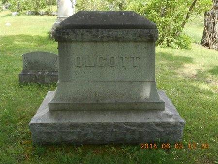 OLCOTT, FAMILY - Marquette County, Michigan   FAMILY OLCOTT - Michigan Gravestone Photos
