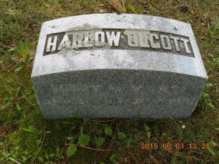OLCOTT, HARLOW - Marquette County, Michigan | HARLOW OLCOTT - Michigan Gravestone Photos