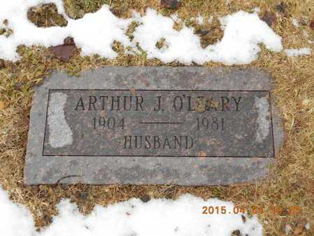 O'LEARY, ATHUR J. - Marquette County, Michigan   ATHUR J. O'LEARY - Michigan Gravestone Photos