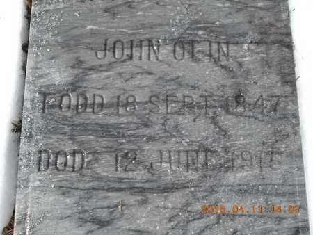OLIN, JOHN - Marquette County, Michigan | JOHN OLIN - Michigan Gravestone Photos