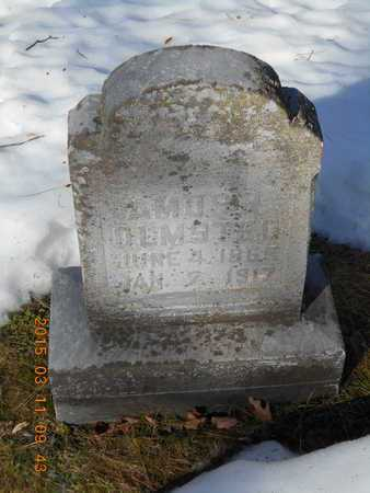 OLMSTED, AMOS R. - Marquette County, Michigan | AMOS R. OLMSTED - Michigan Gravestone Photos