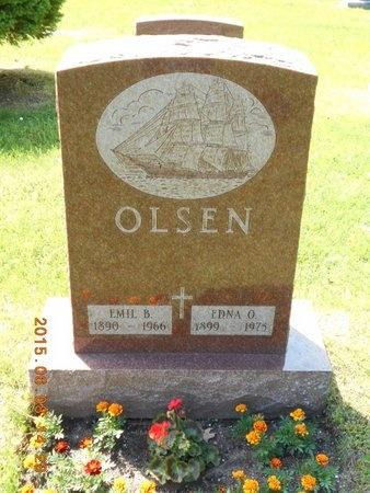 OLSEN, EDNA O. - Marquette County, Michigan | EDNA O. OLSEN - Michigan Gravestone Photos