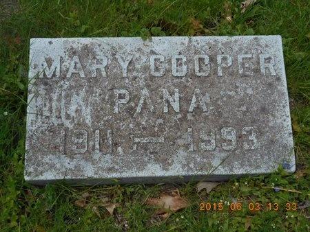 PANA, MARY - Marquette County, Michigan   MARY PANA - Michigan Gravestone Photos
