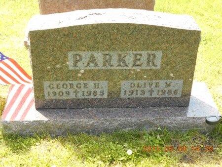 PARKER, OLIVE M. - Marquette County, Michigan | OLIVE M. PARKER - Michigan Gravestone Photos