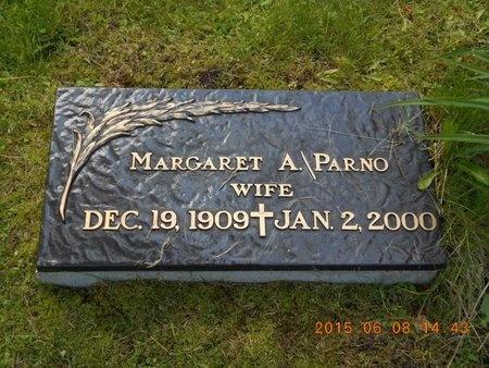 PARNO, MARGARET A. - Marquette County, Michigan | MARGARET A. PARNO - Michigan Gravestone Photos