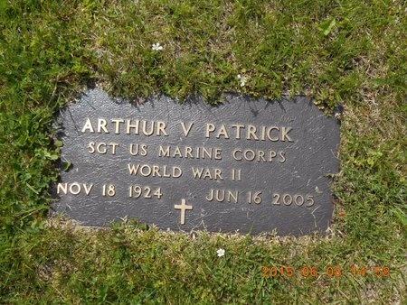 PATRICK, ARTHUR V. - Marquette County, Michigan | ARTHUR V. PATRICK - Michigan Gravestone Photos