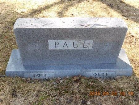 PAUL, GOLDIE - Marquette County, Michigan | GOLDIE PAUL - Michigan Gravestone Photos