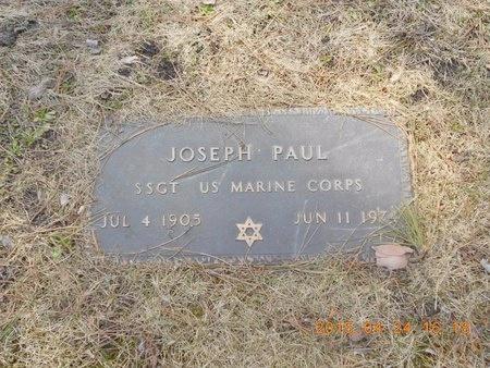 PAUL, JOSEPH - Marquette County, Michigan | JOSEPH PAUL - Michigan Gravestone Photos