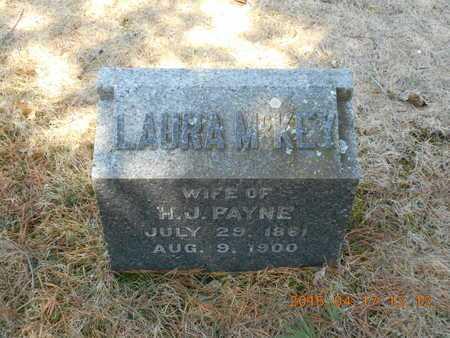 PAYNE, LAURA M. - Marquette County, Michigan | LAURA M. PAYNE - Michigan Gravestone Photos