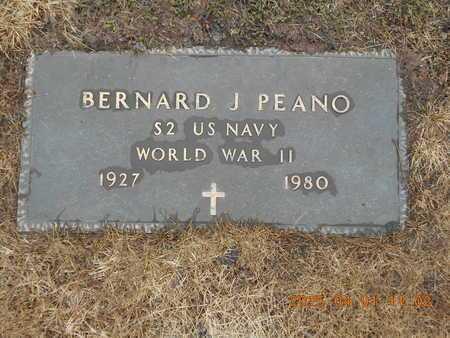 PEANO, BENARD J. - Marquette County, Michigan | BENARD J. PEANO - Michigan Gravestone Photos