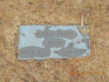 PEARCE, A. ROY - Marquette County, Michigan   A. ROY PEARCE - Michigan Gravestone Photos