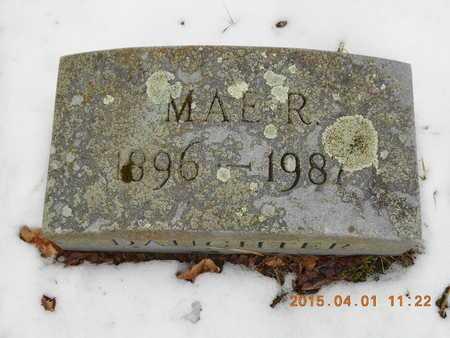 PEARCE, MAE R. - Marquette County, Michigan | MAE R. PEARCE - Michigan Gravestone Photos