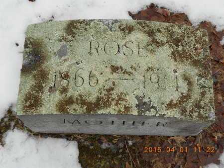 AUBIN PEARCE, ROSE - Marquette County, Michigan   ROSE AUBIN PEARCE - Michigan Gravestone Photos