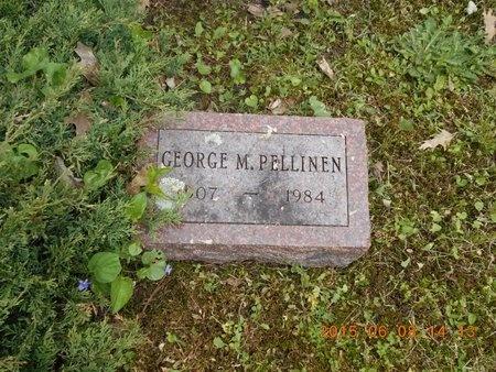 PELLINEN, GEORGE M. - Marquette County, Michigan | GEORGE M. PELLINEN - Michigan Gravestone Photos