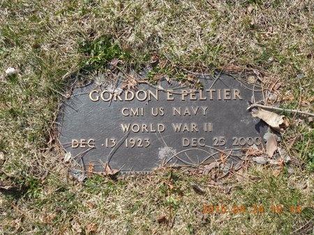 PELTIER, GORDON E. - Marquette County, Michigan | GORDON E. PELTIER - Michigan Gravestone Photos