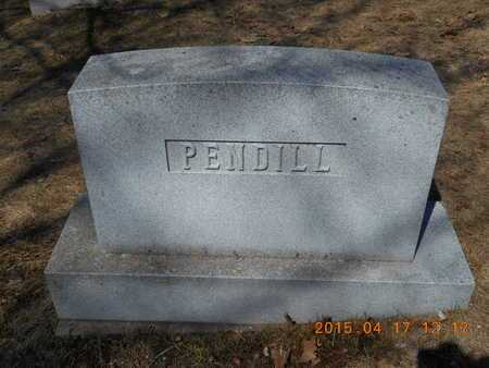 PENDILL, FAMILY - Marquette County, Michigan | FAMILY PENDILL - Michigan Gravestone Photos