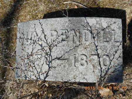 PENDILL, GUY - Marquette County, Michigan | GUY PENDILL - Michigan Gravestone Photos