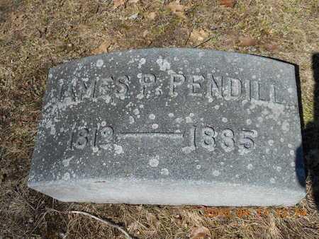 PENDILL, JAMES P. - Marquette County, Michigan | JAMES P. PENDILL - Michigan Gravestone Photos