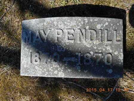 PENDILL, MAY - Marquette County, Michigan | MAY PENDILL - Michigan Gravestone Photos
