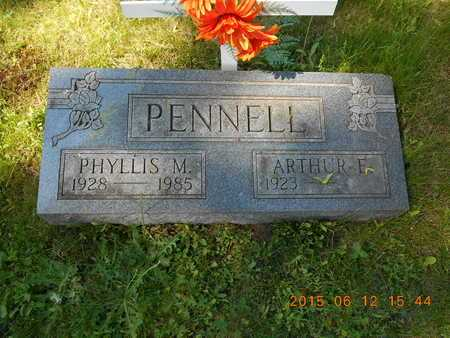 PENNELL, PHYLLIS M. - Marquette County, Michigan | PHYLLIS M. PENNELL - Michigan Gravestone Photos