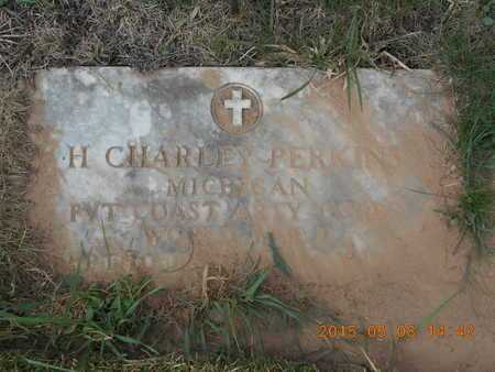 PERKINS, H. CHARLEY - Marquette County, Michigan   H. CHARLEY PERKINS - Michigan Gravestone Photos