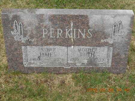 PERKINS, JAMES - Marquette County, Michigan | JAMES PERKINS - Michigan Gravestone Photos