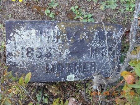 PERKINS, THIRZA A. - Marquette County, Michigan | THIRZA A. PERKINS - Michigan Gravestone Photos