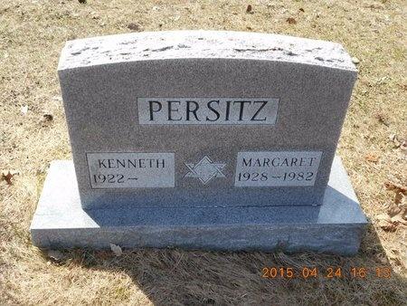 PERSITZ, MARGARET - Marquette County, Michigan   MARGARET PERSITZ - Michigan Gravestone Photos