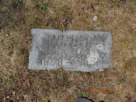 PETERS, ELIZABETH - Marquette County, Michigan | ELIZABETH PETERS - Michigan Gravestone Photos