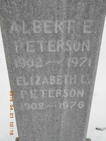PETERSON, ALBERT E. - Marquette County, Michigan   ALBERT E. PETERSON - Michigan Gravestone Photos
